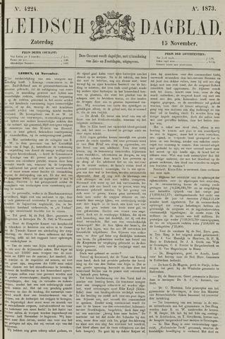 Leidsch Dagblad 1873-11-15