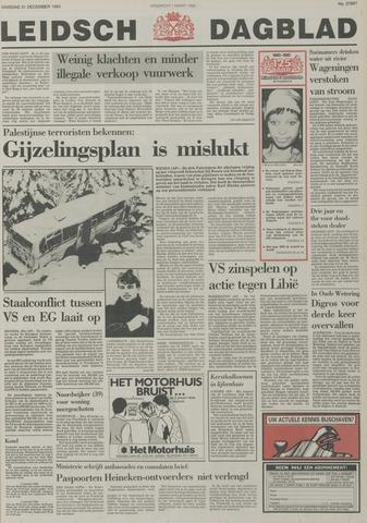 Leidsch Dagblad 1985-12-31