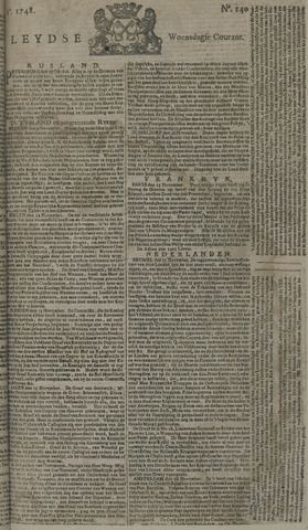 Leydse Courant 1748-11-20