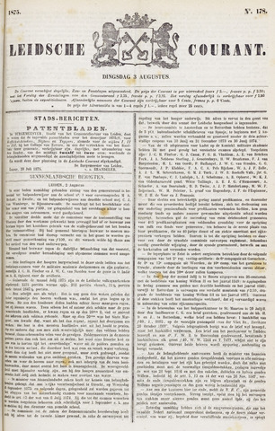 Leydse Courant 1875-08-03