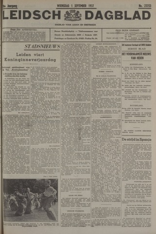 Leidsch Dagblad 1937-09-01