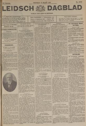 Leidsch Dagblad 1933-03-22