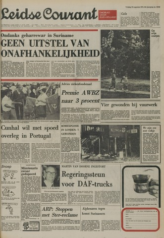 Leidse Courant 1975-08-29