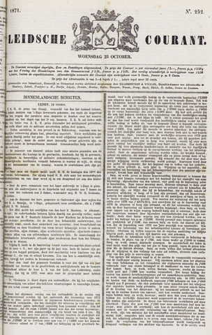 Leydse Courant 1871-10-25