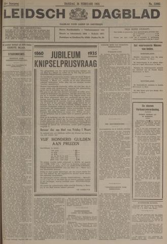 Leidsch Dagblad 1935-02-26
