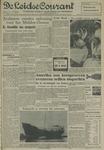 Leidse Courant 1958-08-22