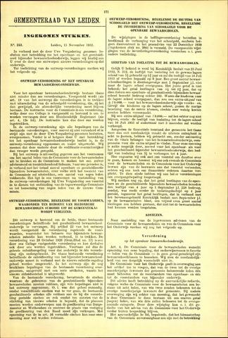 Handelingen van de Raad 1932-11-15
