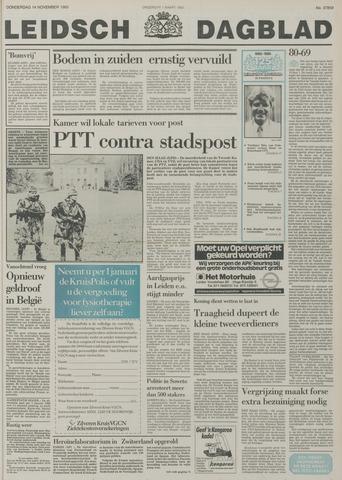 Leidsch Dagblad 1985-11-14