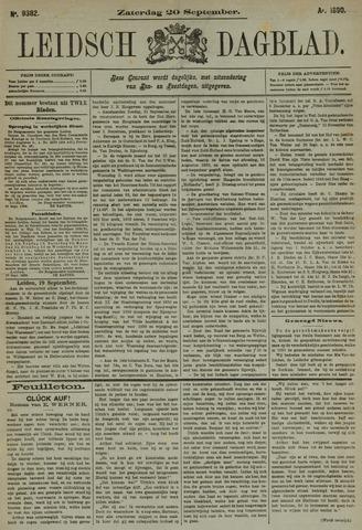 Leidsch Dagblad 1890-09-20