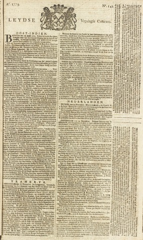 Leydse Courant 1773-11-26
