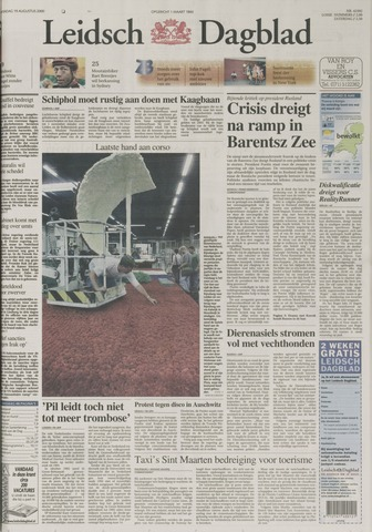 Leidsch Dagblad 2000-08-19