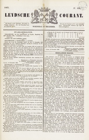 Leydse Courant 1865-12-27