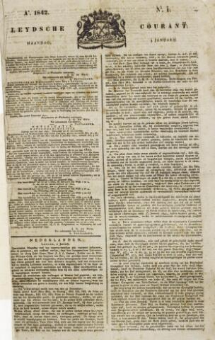 Leydse Courant 1842