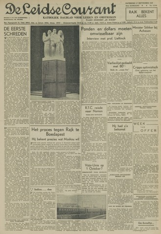 Leidse Courant 1949-09-17