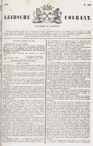 Leydse Courant 1876-08-16