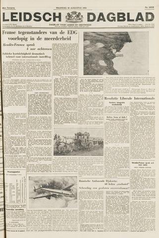 Leidsch Dagblad 1954-08-30