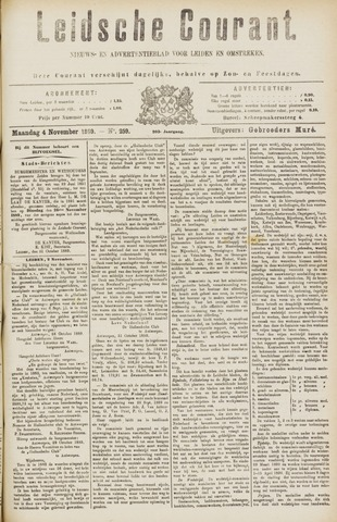 Leydse Courant 1889-11-04