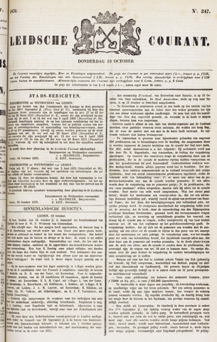 Leydse Courant 1876-10-19