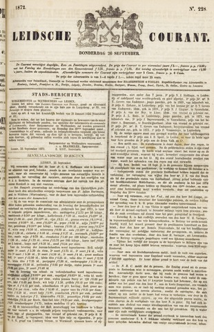 Leydse Courant 1872-09-26