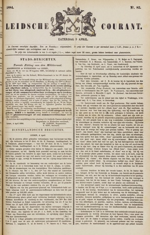 Leydse Courant 1884-04-05