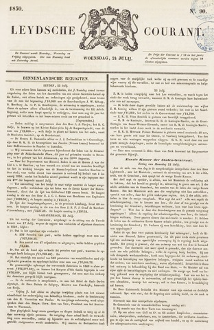 Leydse Courant 1850-07-24