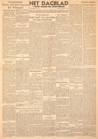 Dagblad voor Leiden en Omstreken 1944-01-14