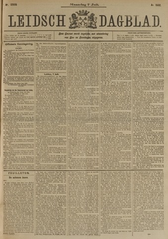 Leidsch Dagblad 1902-07-07
