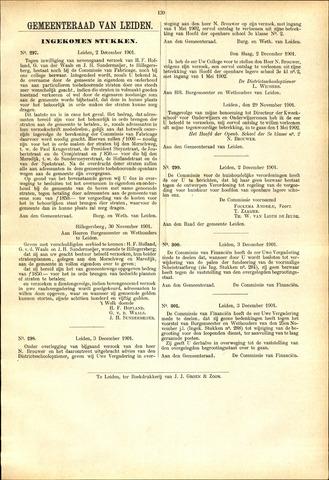 Handelingen van de Raad 1901-12-02