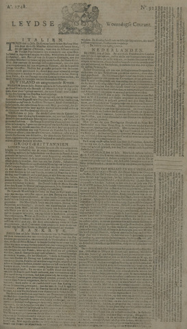 Leydse Courant 1748-07-31