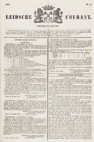 Leydse Courant 1875-01-05