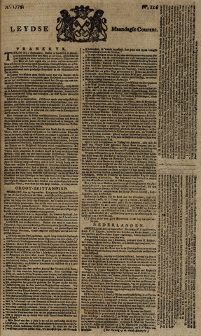 Leydse Courant 1779-09-27