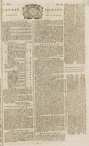 Leydse Courant 1817-01-29