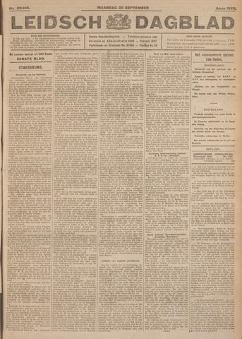 Leidsch Dagblad 1926-09-20