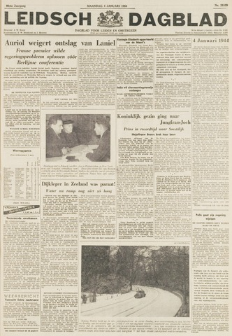 Leidsch Dagblad 1954-01-04