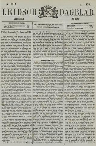 Leidsch Dagblad 1876-06-22