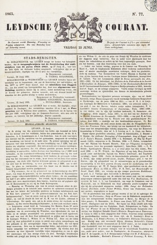 Leydse Courant 1865-06-21