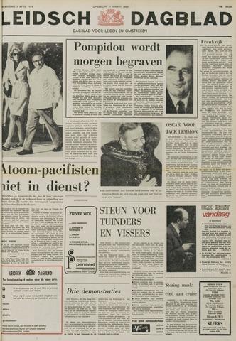 Leidsch Dagblad 1974-04-03