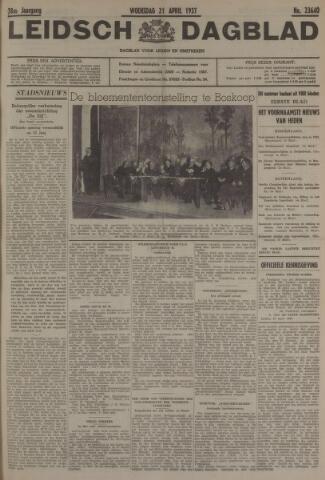Leidsch Dagblad 1937-04-21
