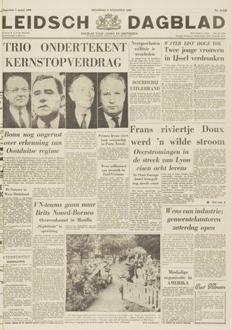 Leidsch Dagblad 1963-08-05