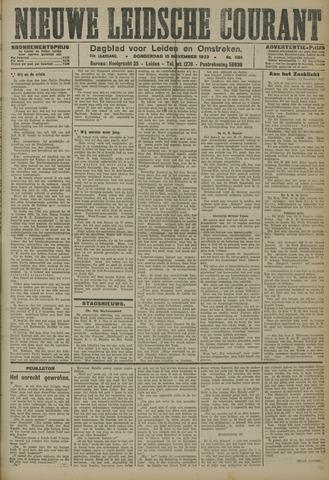 Nieuwe Leidsche Courant 1923-11-15