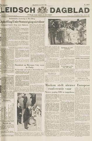 Leidsch Dagblad 1954-07-26