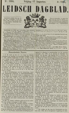 Leidsch Dagblad 1866-08-17