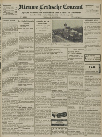 Nieuwe Leidsche Courant 1938-03-18
