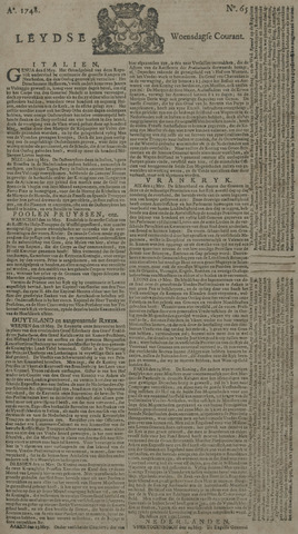 Leydse Courant 1748-05-29