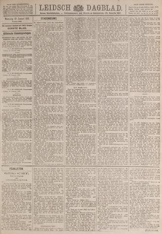 Leidsch Dagblad 1919-01-22
