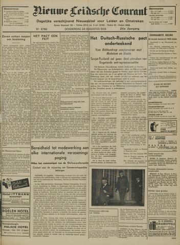 Nieuwe Leidsche Courant 1939-08-24