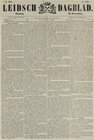 Leidsch Dagblad 1869-11-16