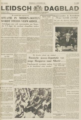 Leidsch Dagblad 1956-11-14
