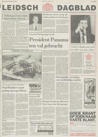Leidsch Dagblad 1988-02-26
