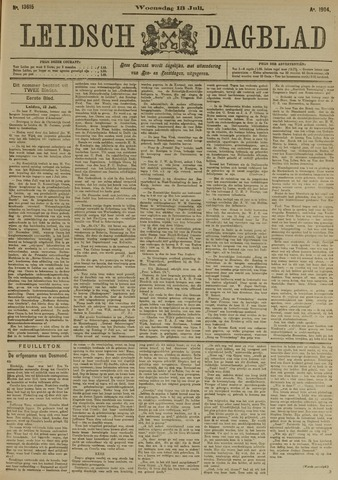 Leidsch Dagblad 1904-07-13